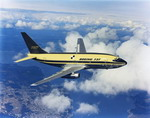 An amazing view of a the Boeing 737-100's maiden flight on 9 April 1967. Pilots Brian Wygle and Lew Wallick took off from Boeing Field in Seattle and flew for 2 5 hours. (The Boeing Company)