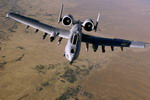 A US Air Force A-10 refuelling over Afghanistan on 29 May 2008. (USAF/Master Sergeant Andy Dunaway)