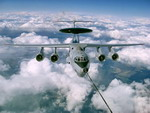A Beriev A-50EI Phalcon AEW&C aircraft belonging to the Indian Air Force takes on fuel in flight. (Beriev)