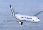 An Airbus A300-600F widebody transport operated by Galaxy Airlines. (EADS)
