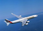 An Emirates Airbus A340 in flight. (Copyright Airbus SAS)