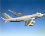The YAL-1A Airborne Laser during a test flight. (USAF)