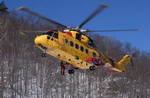 A Canadian CH-149 Cormorant during Exercise Tigerex 04 on 1 March 2005. (CF Photo by Master Corp Daren Kraus)