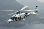 An AgustaWestland AW109S Grand in flight. (AgustaWestland)