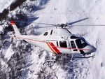 An AW119 Koala 8-seat helicopter in flight. (AgustaWestland)