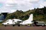 An Antonov An-32 'Cline' during a Red Cross airlift in Africa on 12 May 1994. (US DoD/TSgt David McLeod)