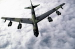 A Boeing B-52 Stratofortress photographed in 1988. (Technical Sargeant Bill Thompson/DoD)