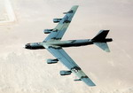 A Boeing B-52 Stratofortress during the joint Exercise BRIGHT STAR '83.  (DoD)