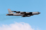 A Boeing B-52H Startofortress from the US Air Force's 96th Bomb Squadron at Barksdale AFB takes off for exercise Red Flag. (USAF Kevin Cox.)