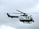 A South African Police Service BO-105 during the Port Elizabeth airshow in November 2010. (Guy Martin)