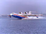 A Beriev Be-200 taking off. (Beriev)