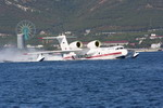 A Be-200ES taking off from Gelendzhik (Beriev)