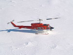 A United States Antarctic Programme Bell 212 on 10 January 2006. (USAP/Patrick Row)