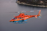 A Bell 430 flying in the colours of a Korean fire service. (Bell)