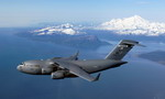 A C-17 en route to Elmendorf Air Force Base in Alaska. (USAF/Technical Sergeant Keith Brown)