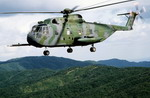 A Sikorsky CH-3 Jolly Green Giant assigned to the 33rd Aerospace Rescue and Recovery Service of the US Air Force on 3 December 1983. (SSGT Steve Mcgill/DoD)