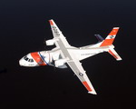 A US Coast Guard HC-144 Ocean Sentry (CASA CN-235-300 MP Persuader) in flight. (USCG)
