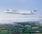 A Bombardier CRJ700 in service with Brit Air. (Bombardier)