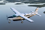 A Cessna 208 Caravan in flight. (Cessna)