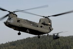 Two US Army CH-47 Chinooks. (US Army)