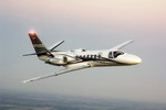 A Cessna Citation Encore Plus in flight. (Cessna)
