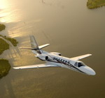 A Cessna Citation Encore + in flight. (Cessna)