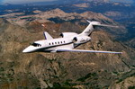 A Cessna 750 Citation X in flight. (Cessna)