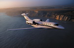 A Cessna 750 Citaction X business jet in flight. (Cessna)