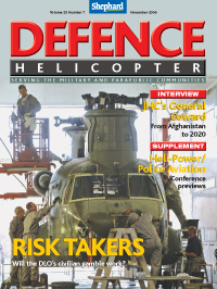 Defence Helicopter magazine
