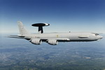 A French E-3 AWACS in flight. (Boeing)