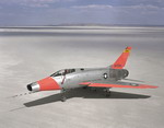 A North American F-100C Super Sabre as operated by NASA in 1962. (NASA)
