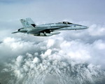 F-18C SFS VFA147 over Iraq USS Carl Vinson 16-4-05 USN Cmdr Don Berry
