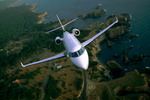 A Gulfstream G200 business jet in flight. (Gulfstream)