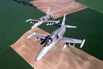 Two L159A Advanced Light Combat Aircraft in flight. (Aero Vodochody)