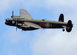 An Avro Lancaster from the Canadian Warplane Heritage Museum participates in a flypast to commemorate the 65th anniversary of the Battle of Britain, on 18 September 2005. (CF Photo by Corporal Jill Cooper)