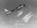 English Electric Lightning in flight (RAF)
