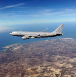 Airbus A330 Multi Role Tanker Transport (MRTT) in flight. (Copyright Airbus SAS)