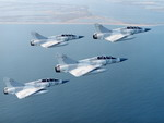 A formation of four Mirage 2000s. (Image Copyright Dassault Aviation/F Robineau)
