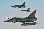 Mirage 2000s over Afghanistan on 10 November 2008 in support of exercise Iron Falcon. (USAF/Staff Sergeant Aaron Allmon)