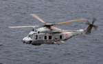 A NH 90 NFH in flight. (Eurocopter)