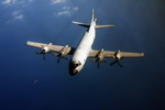 A P-3 Orion conducts an anti-piracy patrol (EU Navfor)