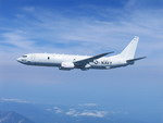A Boeing P-8A Poseidon maritime patrol aircraft in flight. (Boeing)
