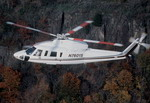 A Sikorsky S-76C+ over autumn foliage. (Sikorsky)