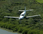 A Socata TBM 850 utility aircraft in flight. (EADS)