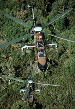 Two Eurocoper Tigers in flight. (Eurocopter)