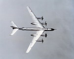 A Tupolev Tu-95 'Bear' photographed sometime during the 1970s. (DoD)