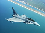 A Eurofighter Typhoon in flight. (Eurofighter)
