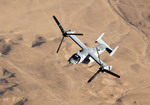 Bell/Boeing V-22 Osprey in flight. (Boeing)