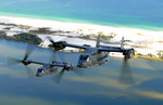 Two CV-22 Ospreys from the 8th Special Operations Squadron over Florida. (DoD)