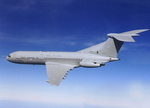 A RAF VC-10 in flight (Crown Copyright RAF)